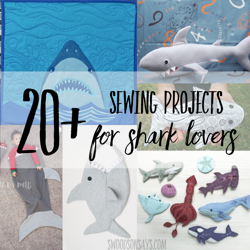 shark sewing projects shark sewing tutorials