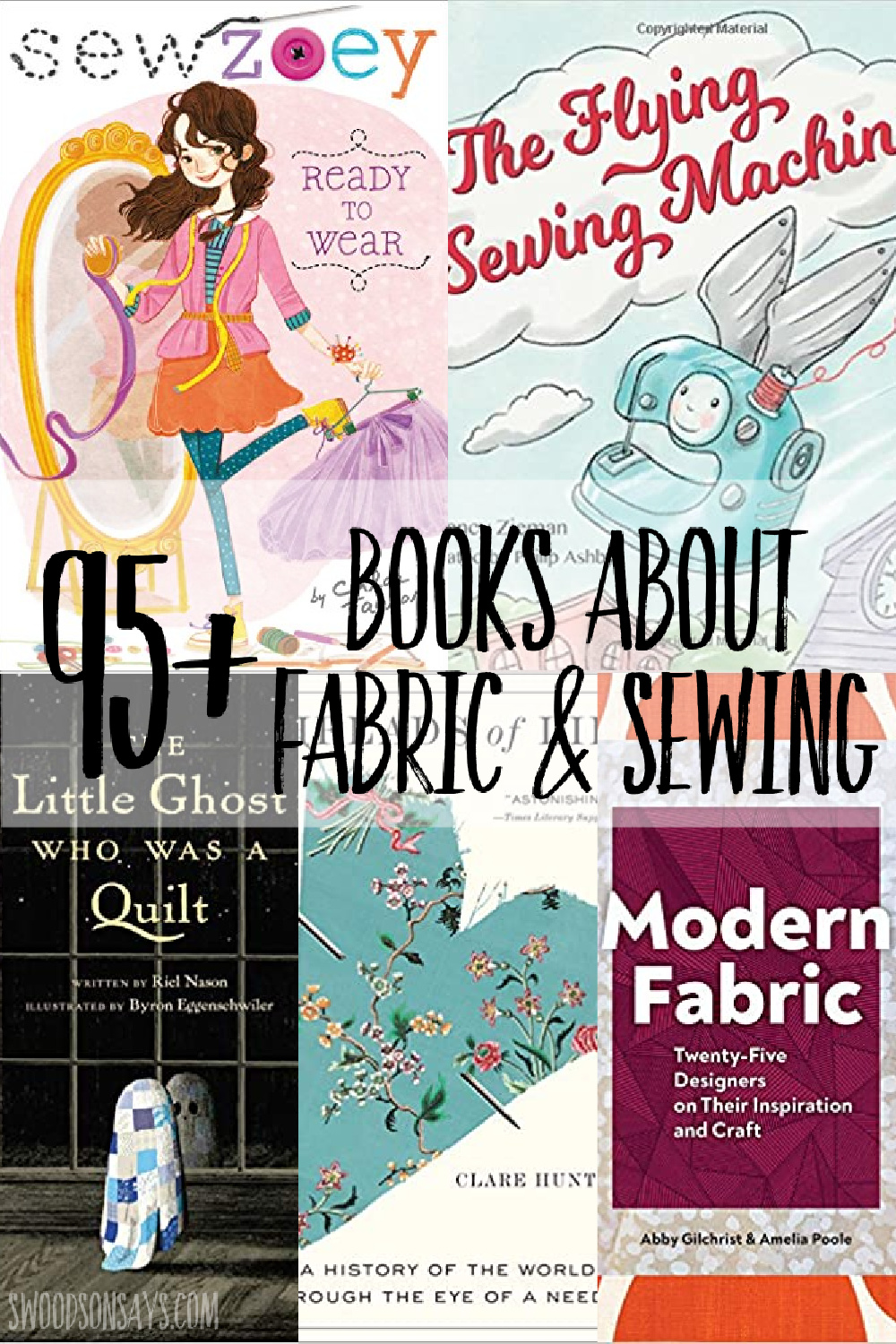 sewing picture books and sewing nonfiction books