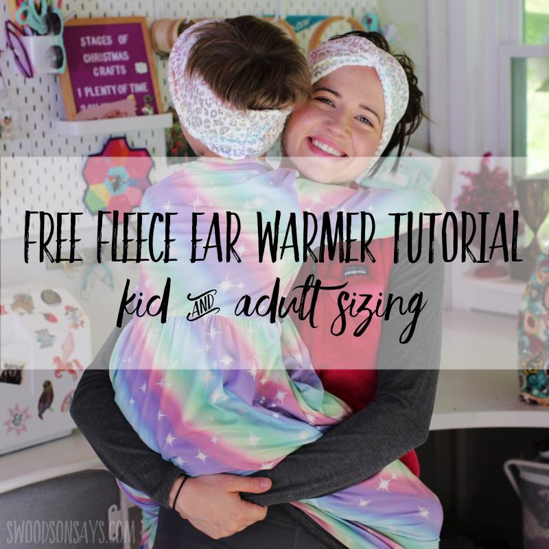Free fleece ear warmer pattern