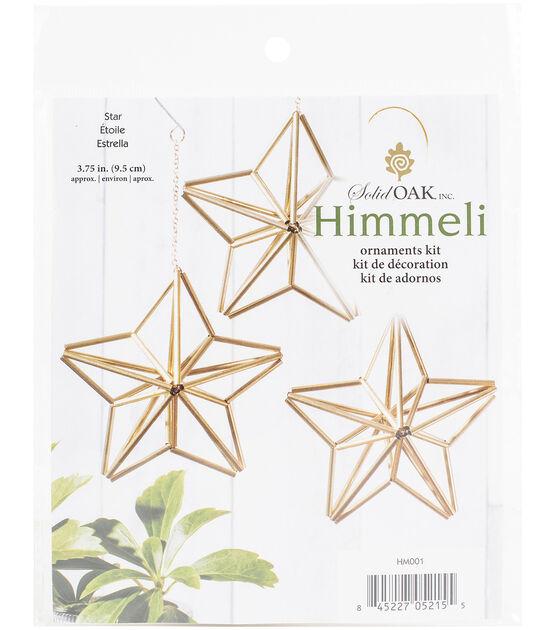 himmeli geometric star ornament kit