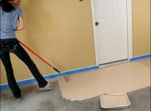 How To Clean A Garage Floor
