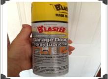 Lubricant For Garage Door