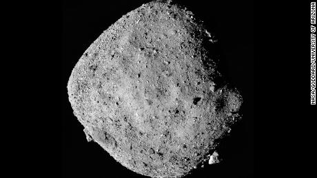 NASA's plan to collect first sample of asteroid finds target