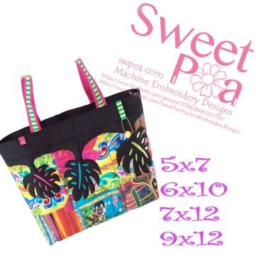 hawaiian-leaf-beach-bag-5x7-6x10-7x12-9x12-in-the-hoop-machine-embroidery-design
