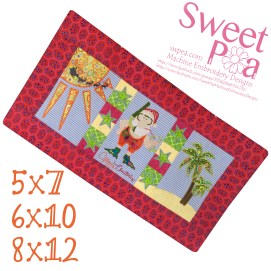 summer-santa-table-runner-5x7-6x10-8x12-in-the-hoop-machine-embroidery-design
