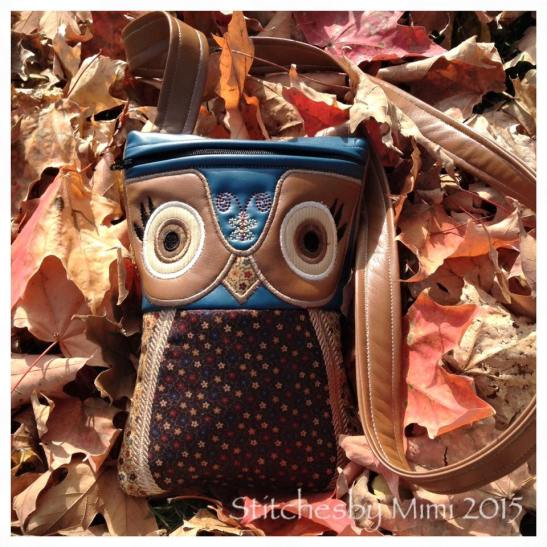 stitchesby mimi2 owl shoulder bag autumn
