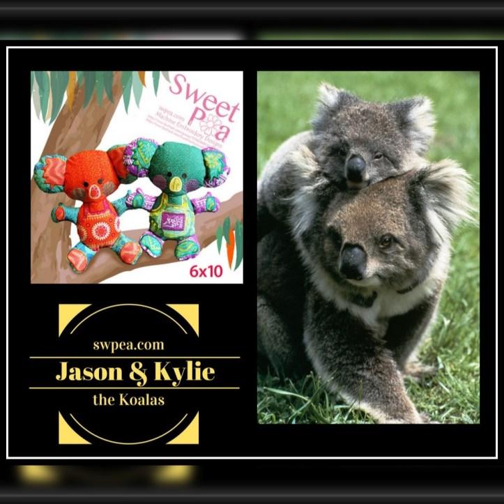 machine embroidery designs koala competition