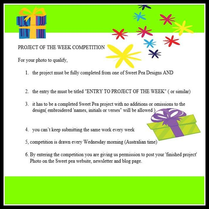 project-of-the-week-rules