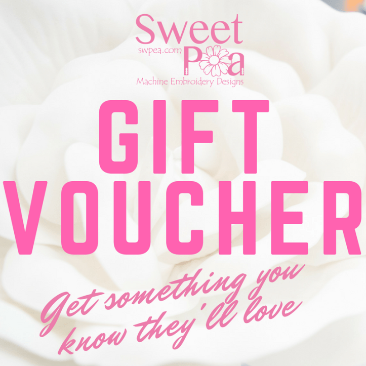 Gift vouchers how to purchase and redeem sweet pea machine gift vouchers how to purchase and redeem negle Image collections