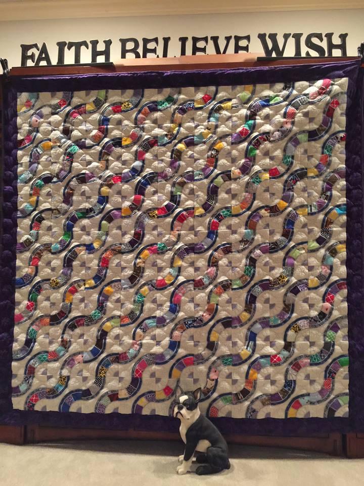 251017 Jackie Uher Vintage quilt