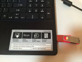 blog download design usb in laptop