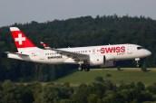 Bombardier CS100 - C-GWXZ - Zurich ZRH/LSZH 15.06.2015 - Photo: Remo Garone