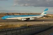 A340-313 - Aerolineas Argentinas - LV-CSD - Madrid MAD/LEMD - 17.06.2015 - Photo copyright: Gilles Brion