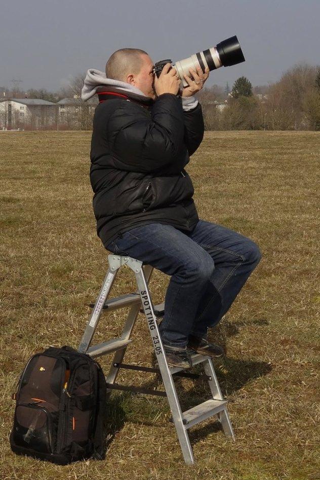 Remo Garone at his home airport GVA/LSGG Geneva international