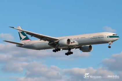 Boeing 777-300ER - Cathay Pacific - B-KQP - LHR 03.06.2015 - by Alexis Boidron