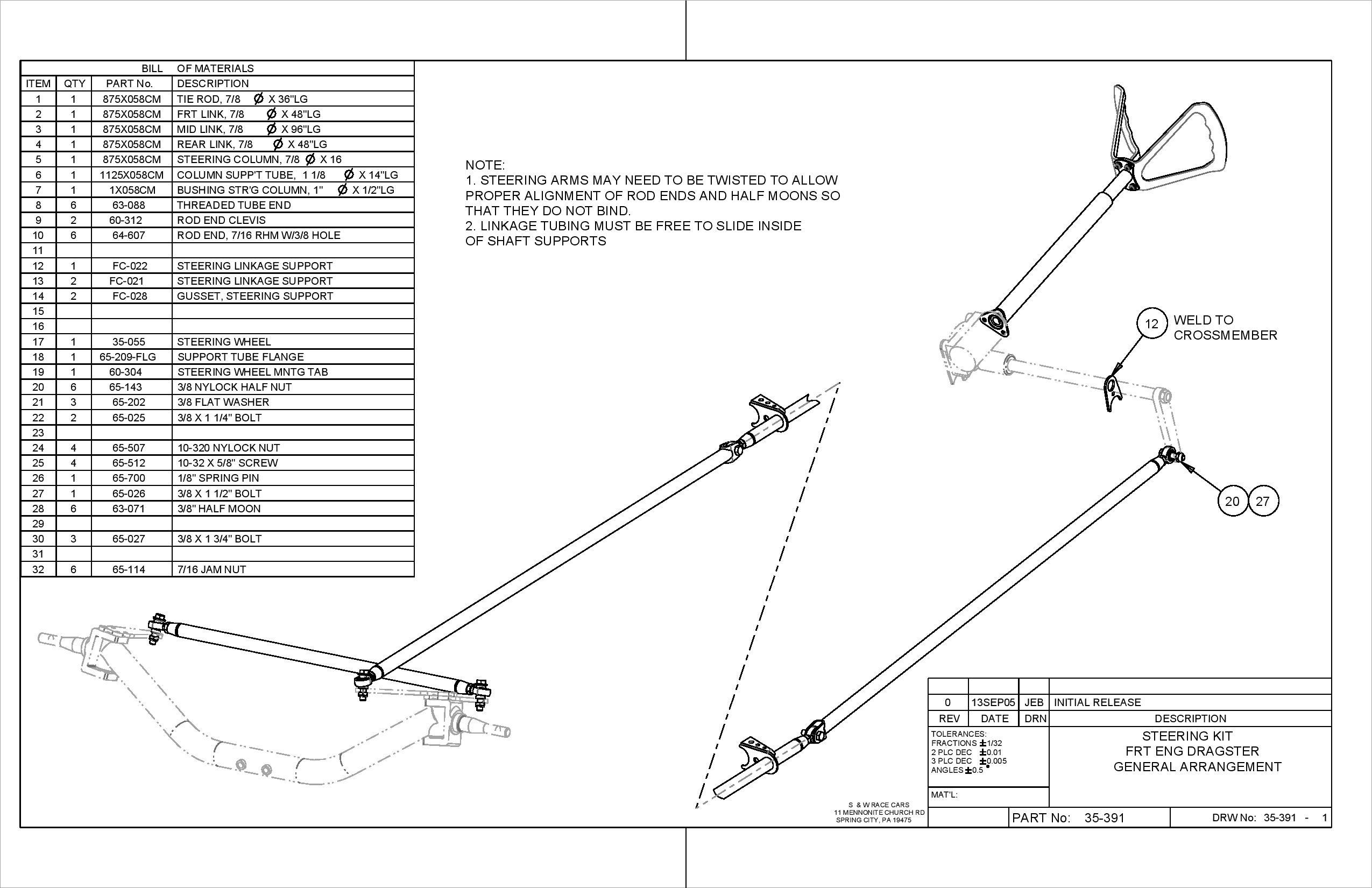 Steering Kit