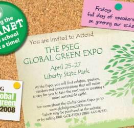 Greenfest Postcard