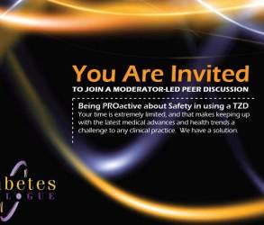 Takeda Pharmaceuticals Diabetes Dialogue Postcard
