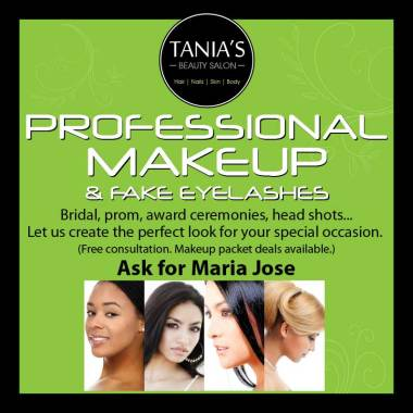 Tania's Salon Makeup Poster