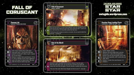 Star Wars Trading Card Game Star by Star Wallpaper 5 - Fall of Coruscant