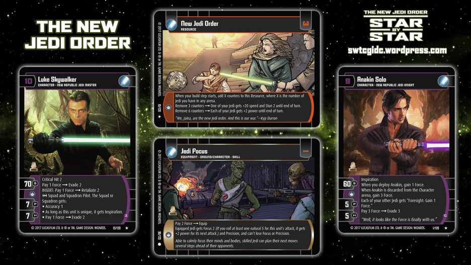 Star Wars Trading Card Game Star by Star Wallpaper 6 - The New Jedi Order