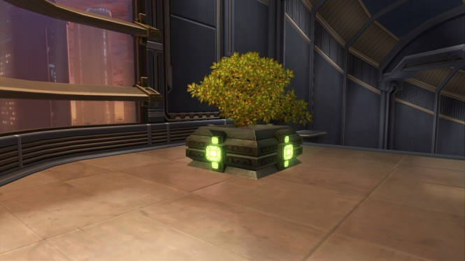 Statue Of The Burning Skull Swtor Decoration