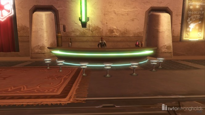 Galactic Trade Network Kiosk Swtor Decoration