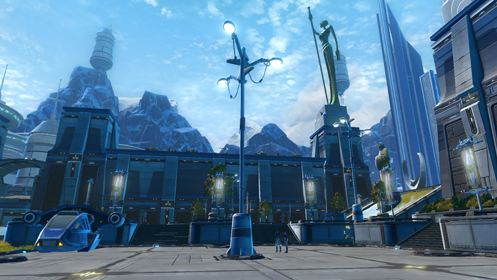 Alderaan Decorations Swtor Strongholds