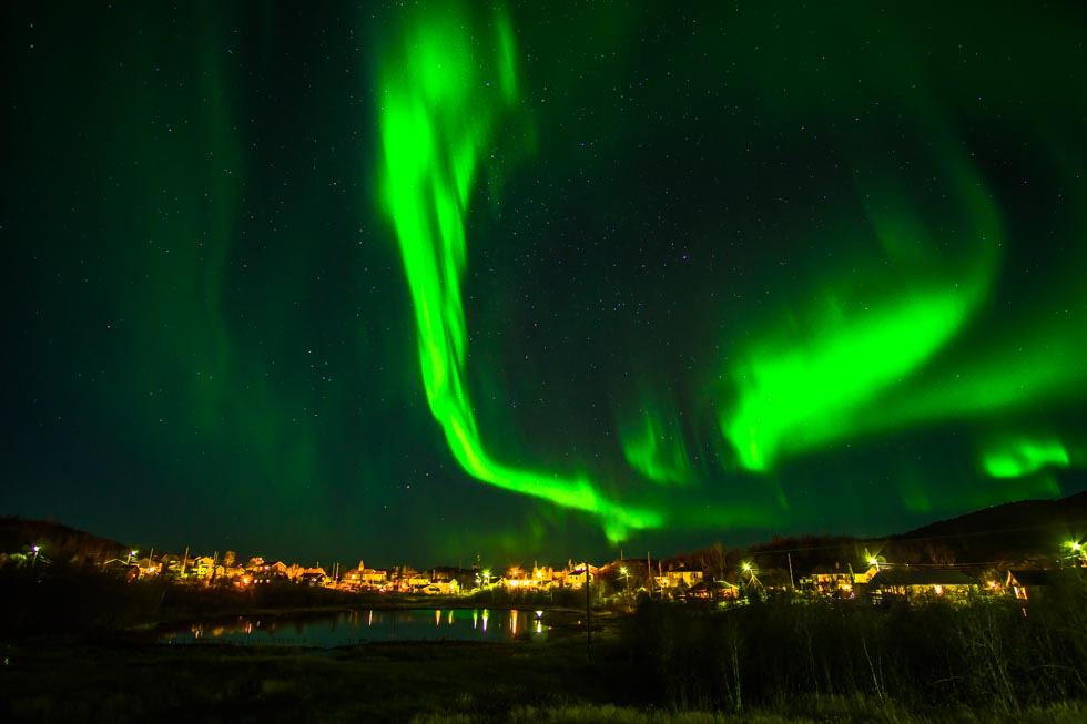FIRE IN THE SKY… THE AURORA BOREALIS