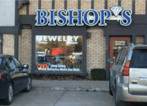 Picture of Bishops Jewelry Storefront