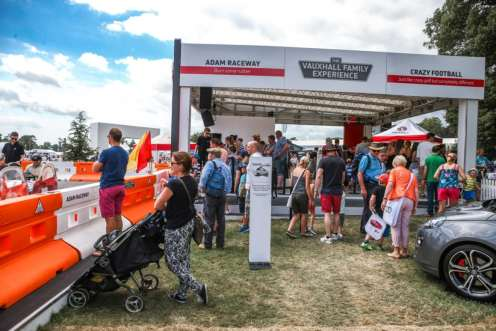 The Vauxhall Family Experience stand at Goodwood FOS 2015