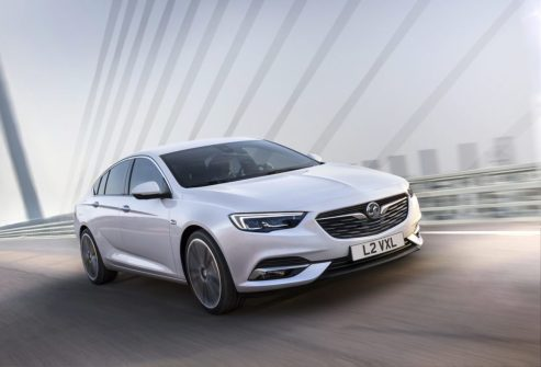 New Vauxhall Insignia Grand Sport