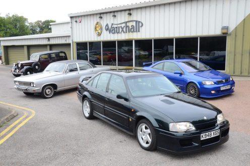 Large cars BXL Limousine, PC Viveroy. Press cars Lotus Carlton, Astra 888
