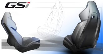 Ergonomic: The performance sport seat of the Insignia GSi is certified by the experts from AGR (Aktion Gesunder Rücken e.V.).