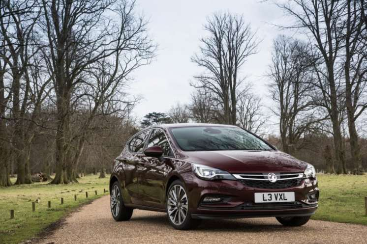 Top-of-the-range Ultimate trim level now available on Astra Hatc
