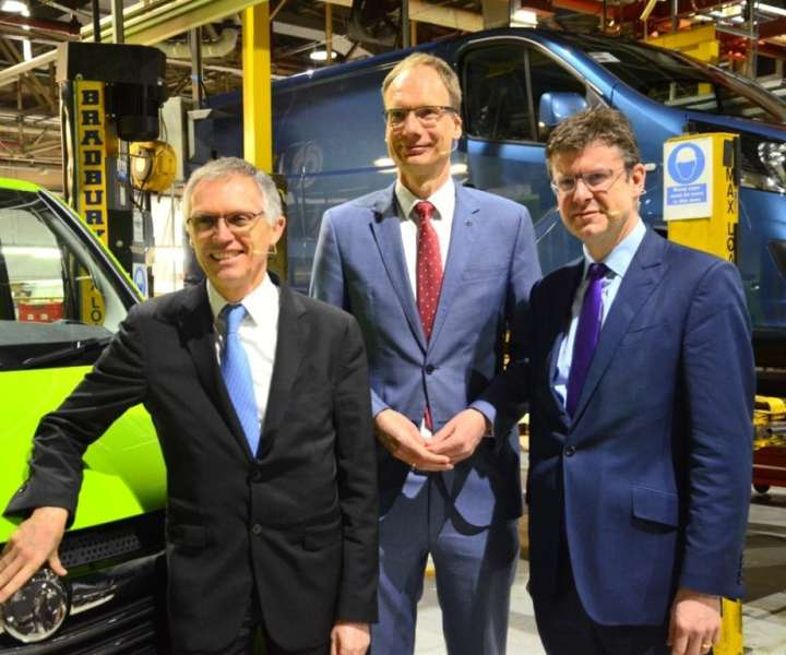 Investment in Luton plant to produce a brand new Opel/Vauxhall Vivaro by 2019.