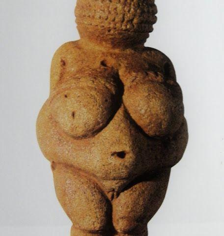 Venus de Willendorf (anónimo. Terracota. 11 cm altura)