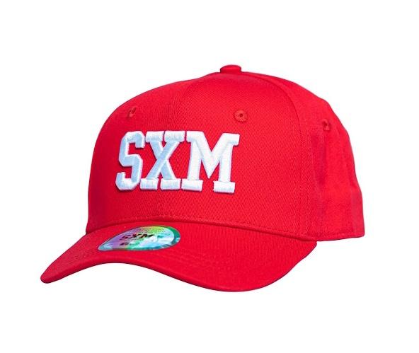 Casquette SXM kid red coté