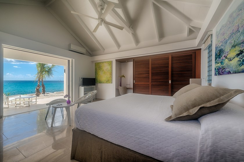 bedrooms views from turtle nest in st martin