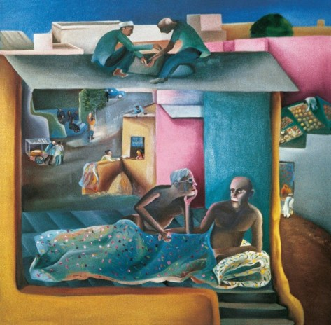 2_Bhupen_Khakhar_My_Dear_Friend_1983-672x658