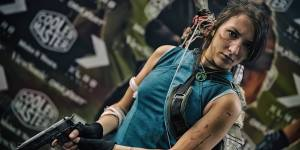 Lara Croft Shadow of the Tomb Raider at Paris Games Week 2018 for Cooler Master EU