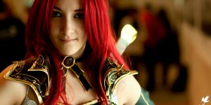 Katarina High Command League of Legends cosplay by SxyBlood Cosplay