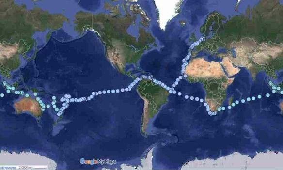 Bauwasserreise 2007 bis 2016