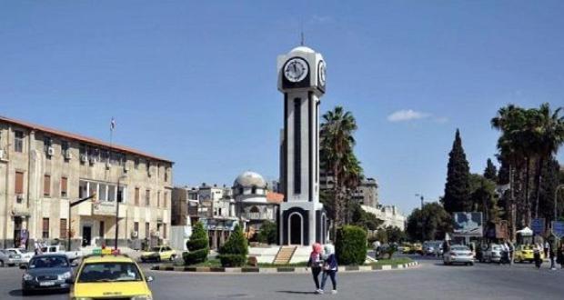 مركز مدينة حمص في 2018