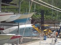 Abriss eines Holzschiffes