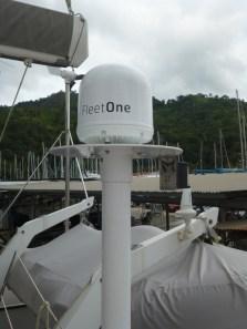 Neues Satellitentelefon