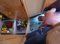 Bilgepumpen reparieren