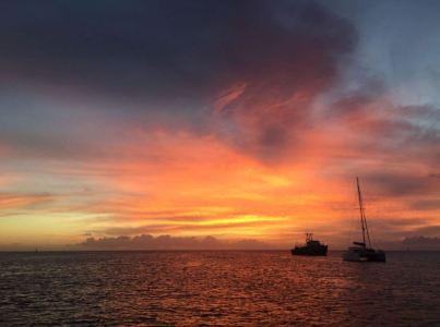 Sonnenuntergang in der Prince Rupert Bay (Made by Fee)