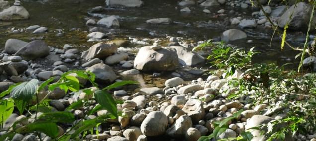 Fluss bei den Cascaden