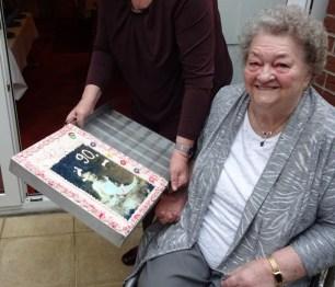 90. Geburtstag Oma